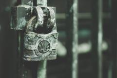 the gate is shut
